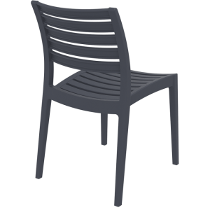 Ares Chair by Siesta Dark Grey / Anthracite
