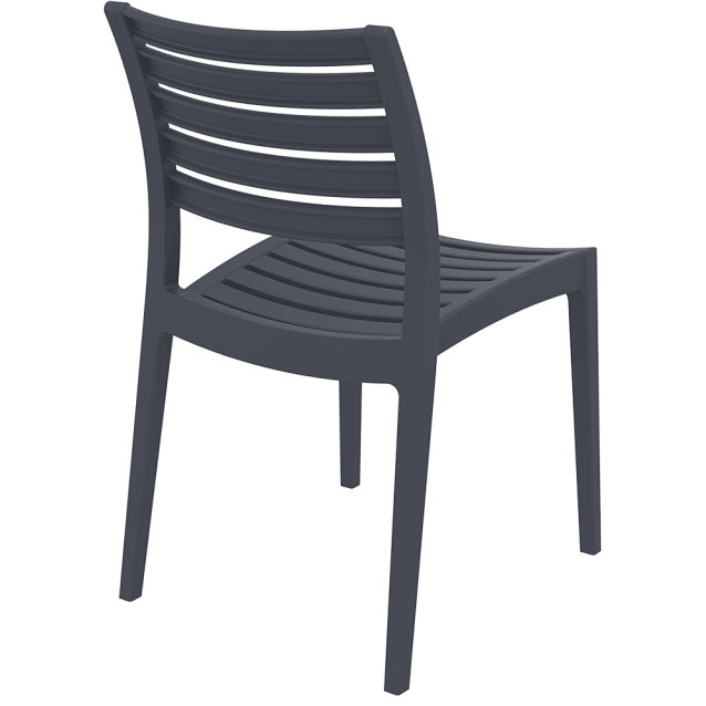 Ares Chair by Siesta Dark Grey / Anthracite - Ares Chair By Siesta. Strong,fade Resistant, Indoor Outdoor Chair