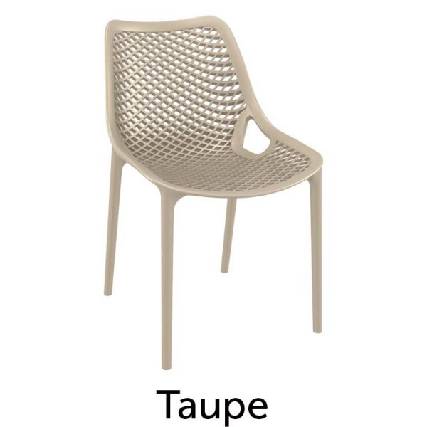 Heavy Duty Hospitality Chair Taupe