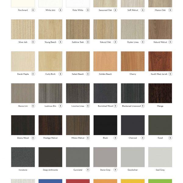 DDK Standard colours