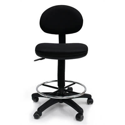 Werk RX-2 Drafting Stool Black