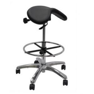 Werk EXR High Saddle Chair Black