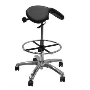 Werk EXR High Saddle Chair Black