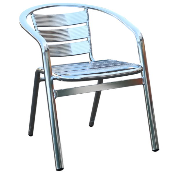 Madrid Aluminium Chair With Arms