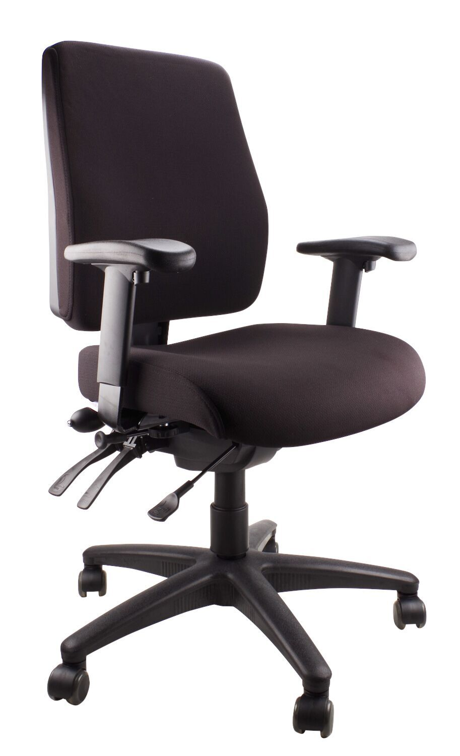 ergo air fully ergonomic chair with lumbar pump. Black Bedroom Furniture Sets. Home Design Ideas