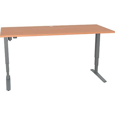 Conset 501 43 Rectangular Electric Sit Stand Desk