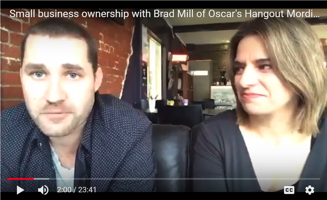 Oscar's Hangout Small business real story