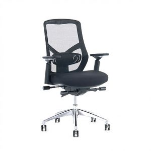 F1 Mesh Back Chair_front angle