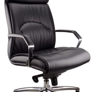 Classic Executive Leather High Back Chair