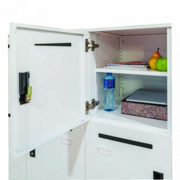 Go Office Locker Unit 6 Door with shelf and mail slot
