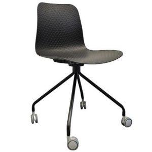 Emboss Castor Chair