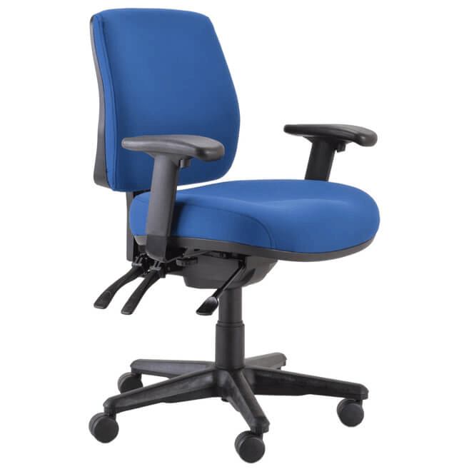 Buro Roma Mid Back Officeway Office Furniture Melbourne