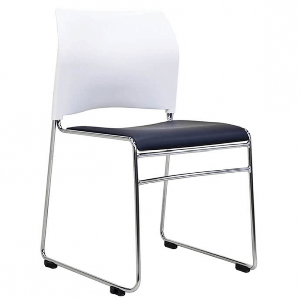 Buro Maxim conference room chairs white back
