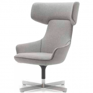 Hendrix High Back Chair 4 Star Rotating Base