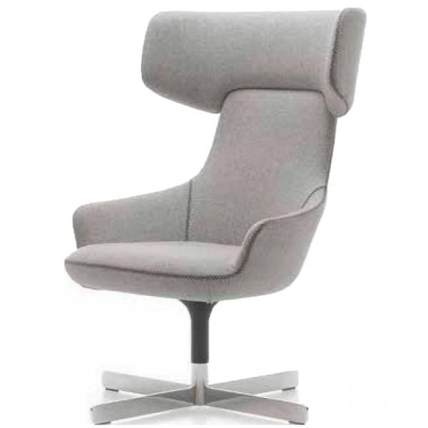 Hendrix High Back Chair 4 Star Rotating Base