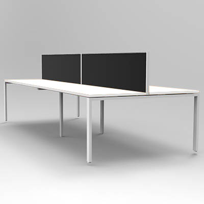 Rapid Infinity Workstation Double Sided 4 Person Profile