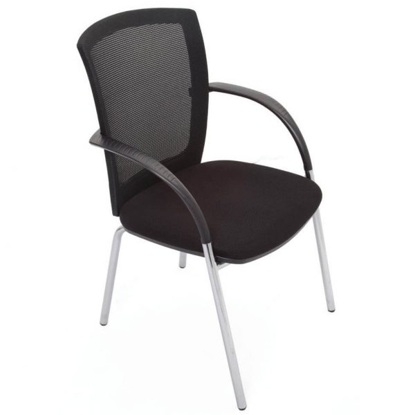 WMVBK 4 Leg Visitor Chair