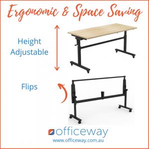 Height Adjustable Flip Table