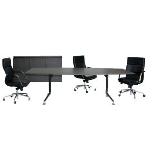 Vantage Boat Shape Boardroom Set