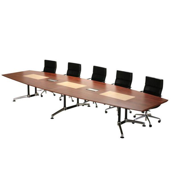 Vantage Boat Shaped Boardroom Table