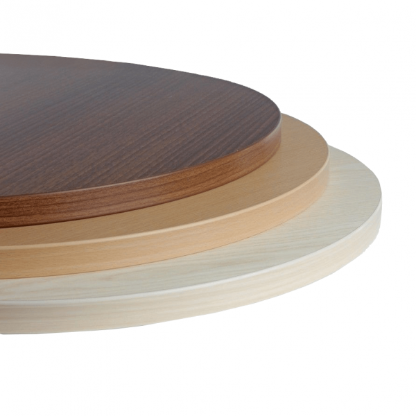 Laminate Table Top 25mm Thick Round