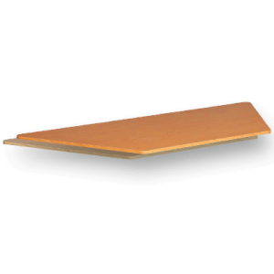 Laminate Table Top 25mm Trapezium