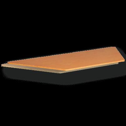 Laminate Table Top 25mm Trapezium
