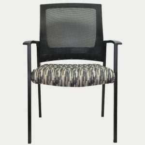 Mesh Visitor Chair With Arms